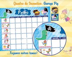 Quadro de Incentivo George Pig
