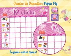 Quadro de Incentivo Peppa Pig
