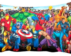 Almofadinha Her�is Marvel Personalizada!