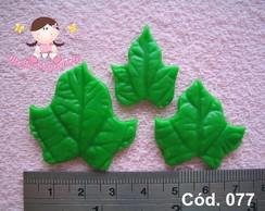 C�d. 077 Molde de folhas de uva