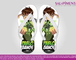 Chinelo BEN 10 Anivers�rio Infantil