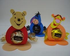 Porta Bombom Winnie the Pooh