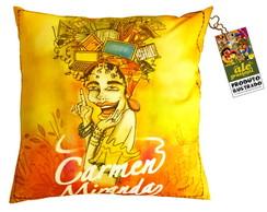 Capa de almofada - Carmen Miranda