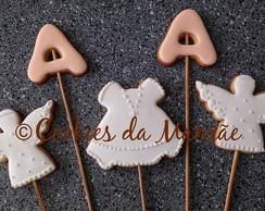 Cookies Decorados - Batizado
