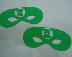M�scara Lanterna verde-Meio rosto