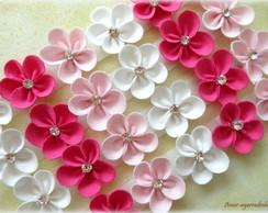 Lacinho Florzinha - Tons de Rosa