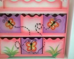 Organizador de Brinquedos - 06 caixinhas