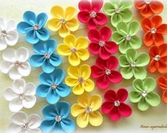 Lacinho Florzinha Cores Vibrantes