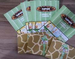 Convite Safari (Qualquer Tema)