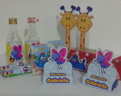 Kit Festa Galinha Pintadinha 120pc
