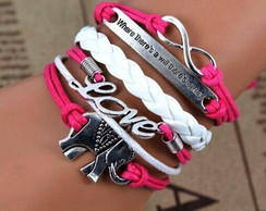 Pulseira Bracelet Big Love