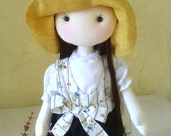 Boneca Camponesa Valentina