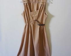 Vestido em algod�o ecol�gico