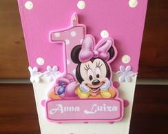 Baby Disney Cachepot Minnie Rosa