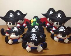 Piratinhas em Feltro