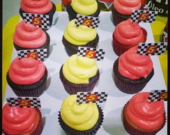 Mini Cupcakes personalizados do Carros