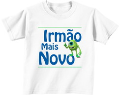 Camiseta Infantil Irm�o Mais Novo Mike