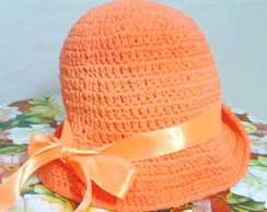 CHAP�U PRAIA CROCHET DEGRADE