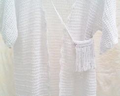 Kimono - Sa�da de Praia Branca Croch�