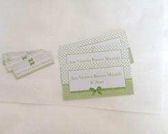 Kit Etiqueta Escolar: Proven�al verde