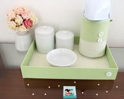 Kit Porcelana Verde Po� & Listras