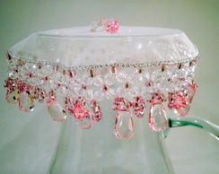 Cobre fruteiras 35 cms rosa
