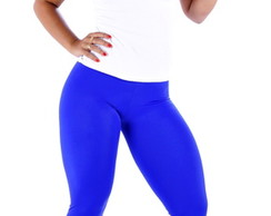 Cal�a Legging Fitness Azul