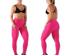 Cal�a Legging Fitness Fus� Brocada