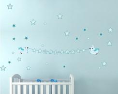 Adesivo Bird Estrelas
