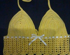 top de croche moda verao