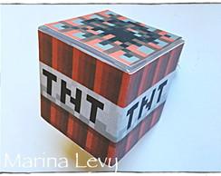 Caixinha TNT - Minecraft