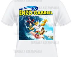Camiseta Bob Esponja 3 - filme