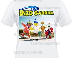 Camiseta Bob Esponja 1 - filme