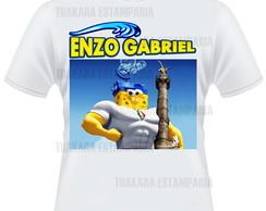 Camiseta Bob Esponja 4 - filme