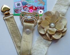 Kit Princesa Glamour Dourado