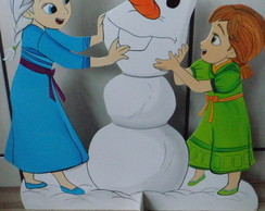 Frozen pain�is em MDF 60cm D-17