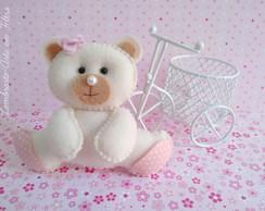 Lembrancinha Ursa Rosa