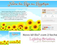 Kit Elo7 / Girass�is