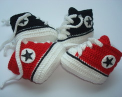 tenis all star de croche