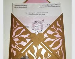 Convite Rendado Folhas