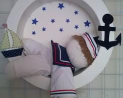 Nicho Porta Maternidade Marinheiro