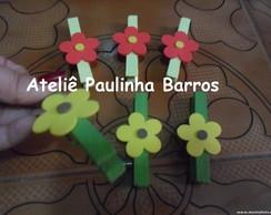 20Pregadores decorado Flores