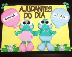 Cartaz Ajudantes do Dia