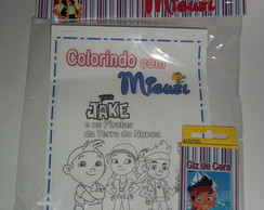 Kit de Colorir Jake e os Piratas!