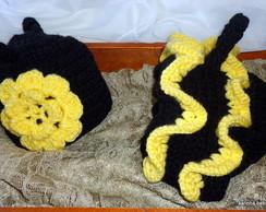 conjunto newborn abelhinha