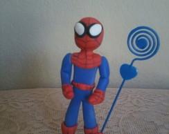 homem aranha de biscuit