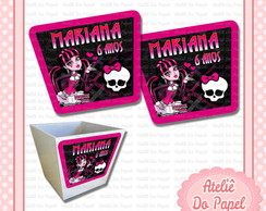 R�tulo para Cachep� Monster High