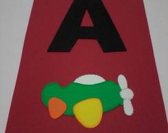 Alfabeto em EVA