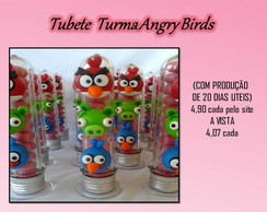Tubete Angry Birds - Lembrancinha