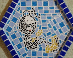 Pe�as em Madeira Acabamento em Mosaico